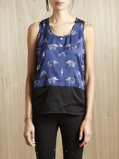 P.A.M. DUNE TANK TOP (ROYAL BLUE)